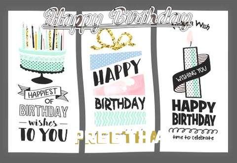 Happy Birthday to You Preetha