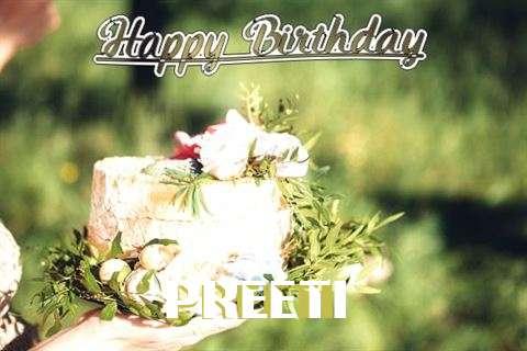 Birthday Images for Preeti