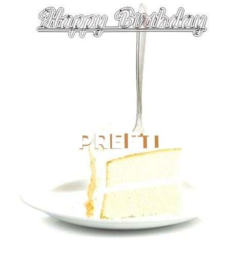 Happy Birthday Wishes for Preeti
