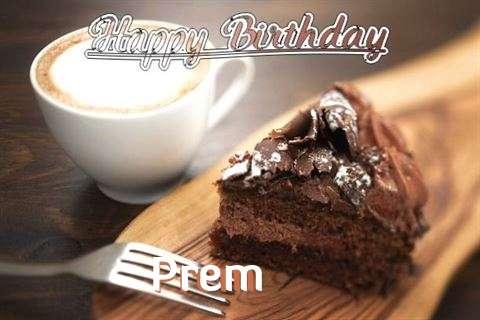 Birthday Images for Prem