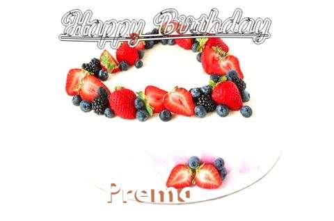 Happy Birthday Cake for Prema