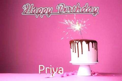 Birthday Images for Priya