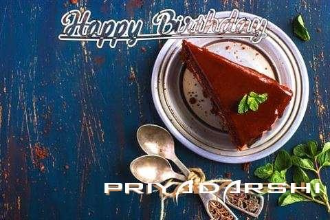 Happy Birthday Priyadarshi Cake Image