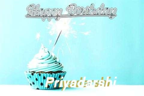 Happy Birthday Cake for Priyadarshi