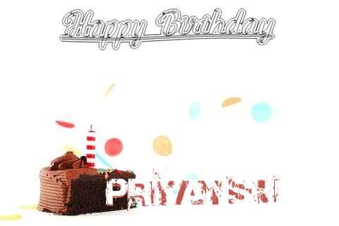 Happy Birthday Cake for Priyanshu