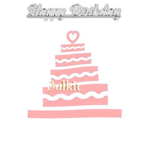 Happy Birthday Pulkit Cake Image