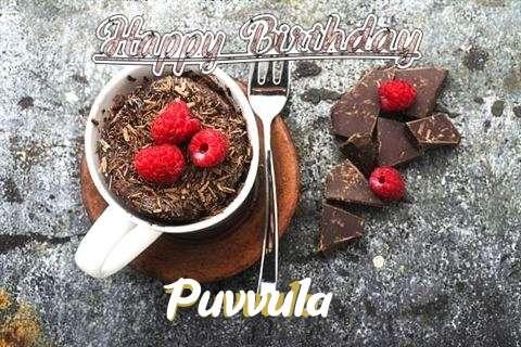 Happy Birthday Wishes for Puvvula