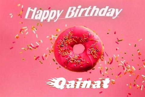 Happy Birthday Cake for Qainat
