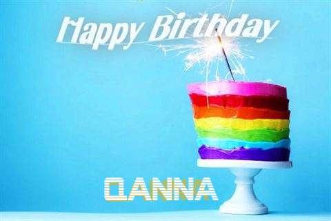 Happy Birthday Wishes for Qanna
