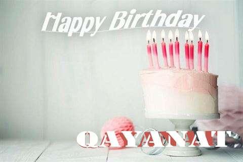 Happy Birthday Qayanat Cake Image