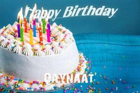 Happy Birthday Wishes for Qaynaat