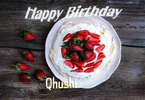 Happy Birthday to You Qhushi