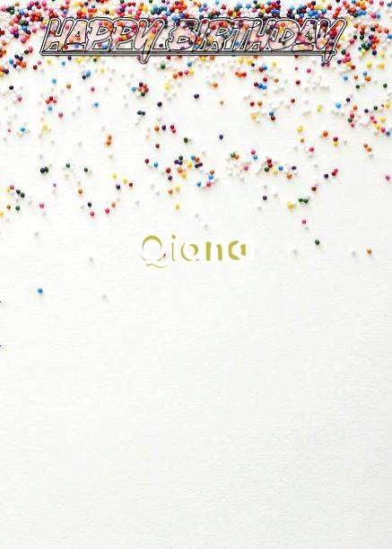 Happy Birthday Qiana