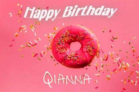 Happy Birthday Cake for Qianna