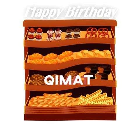 Happy Birthday Cake for Qimat