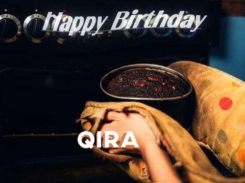 Happy Birthday Cake for Qira