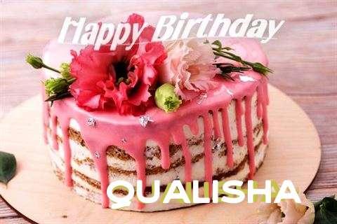 Happy Birthday Cake for Qualisha