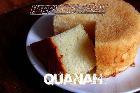 Happy Birthday to You Quanah