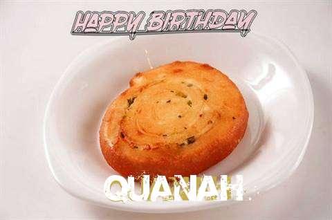 Happy Birthday Cake for Quanah