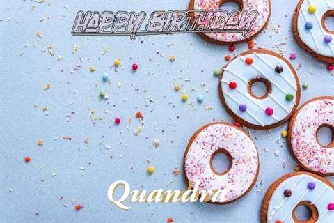 Happy Birthday Quandra Cake Image