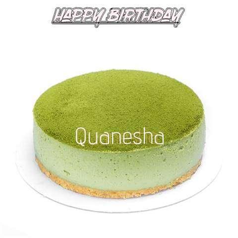 Happy Birthday Cake for Quanesha