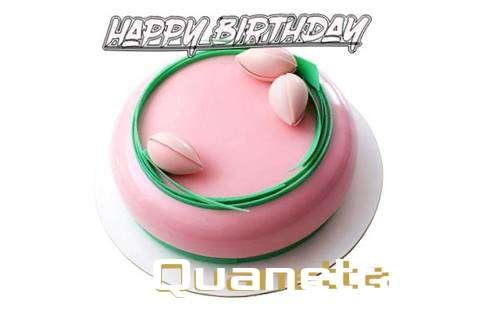Happy Birthday Cake for Quanetta