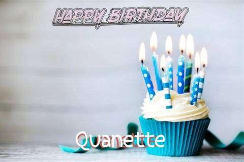 Happy Birthday Quanette Cake Image