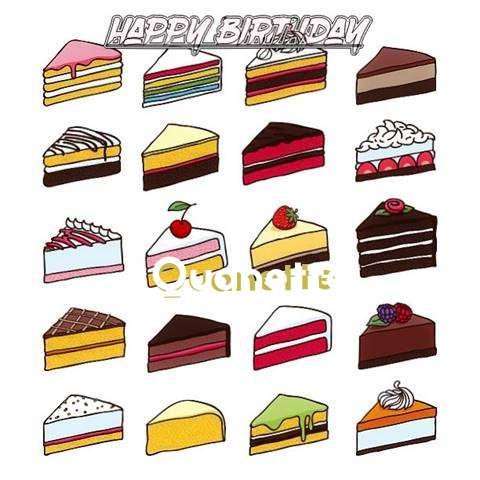 Happy Birthday Cake for Quanette
