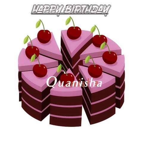 Happy Birthday Cake for Quanisha