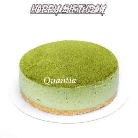 Happy Birthday Cake for Quantia