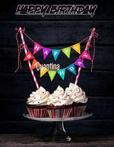 Happy Birthday Quantina
