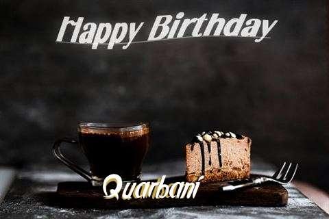 Happy Birthday Wishes for Quarbani