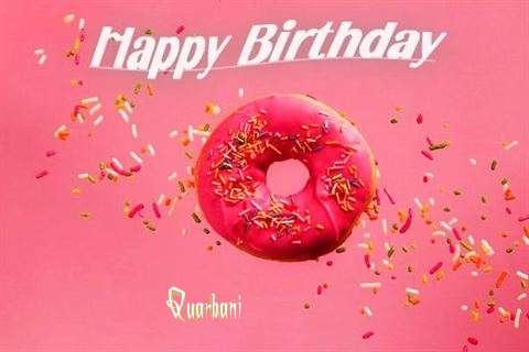 Happy Birthday Cake for Quarbani