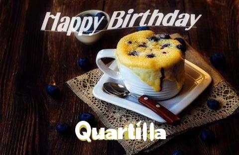 Happy Birthday Quartilla