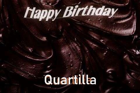 Happy Birthday Quartilla Cake Image