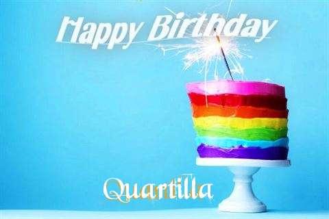 Happy Birthday Wishes for Quartilla