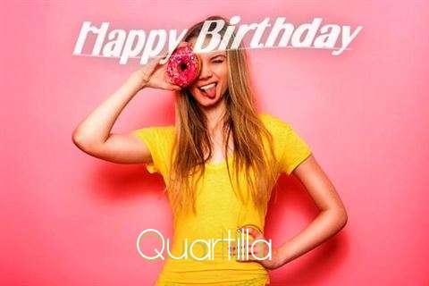 Happy Birthday to You Quartilla