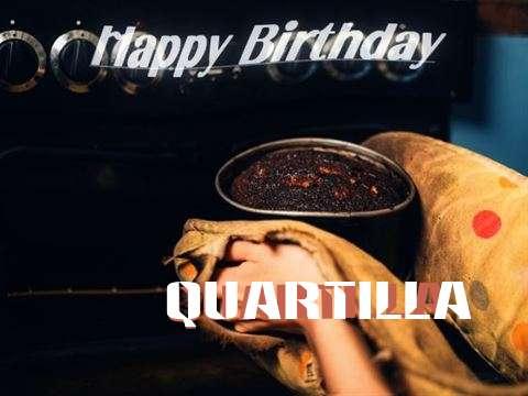 Happy Birthday Cake for Quartilla