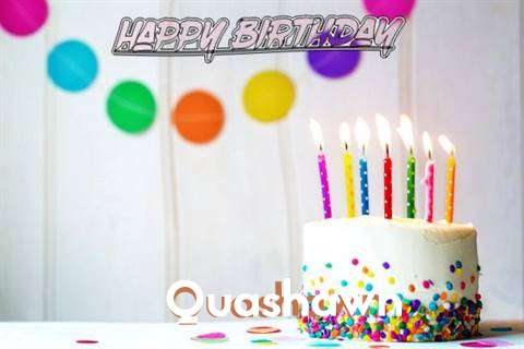 Happy Birthday Cake for Quashawn