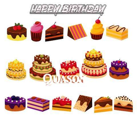 Happy Birthday Quason Cake Image