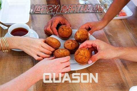 Happy Birthday Wishes for Quason