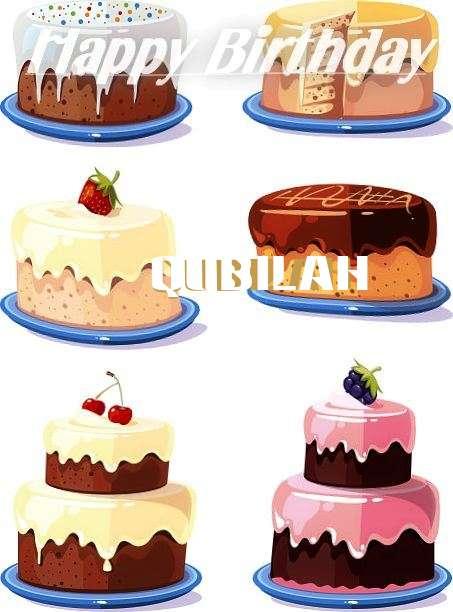 Happy Birthday to You Qubilah