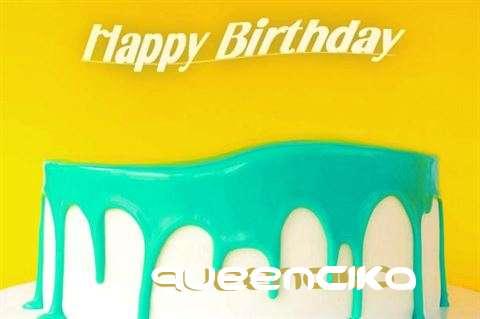 Happy Birthday Queencika Cake Image