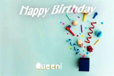 Happy Birthday Wishes for Queeni