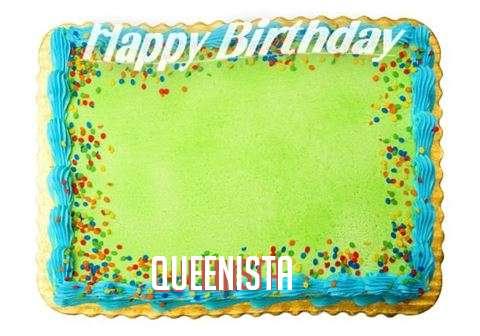 Happy Birthday Queenista Cake Image