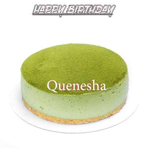 Happy Birthday Cake for Quenesha