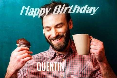 Happy Birthday Quentin Cake Image