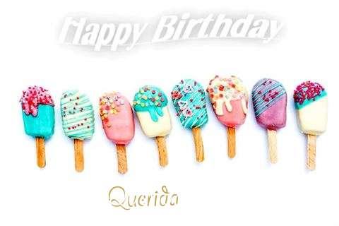 Querida Birthday Celebration