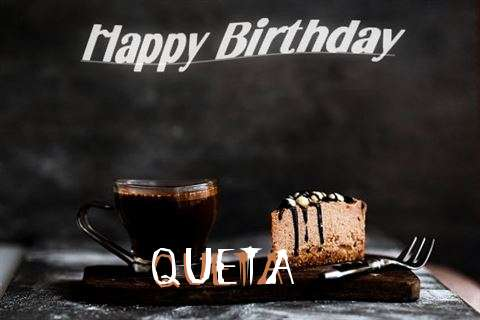 Happy Birthday Wishes for Queta