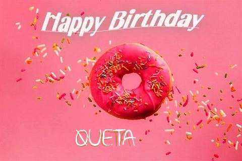 Happy Birthday Cake for Queta